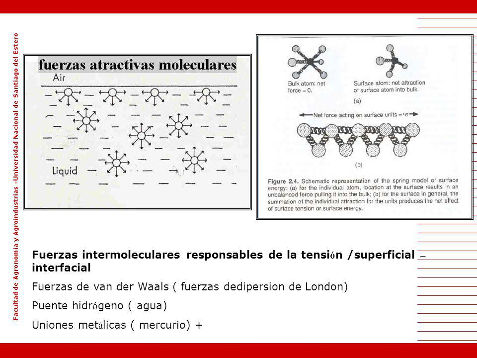 Fuerzas de van der Waals ( fuerzas dedipersion de London)