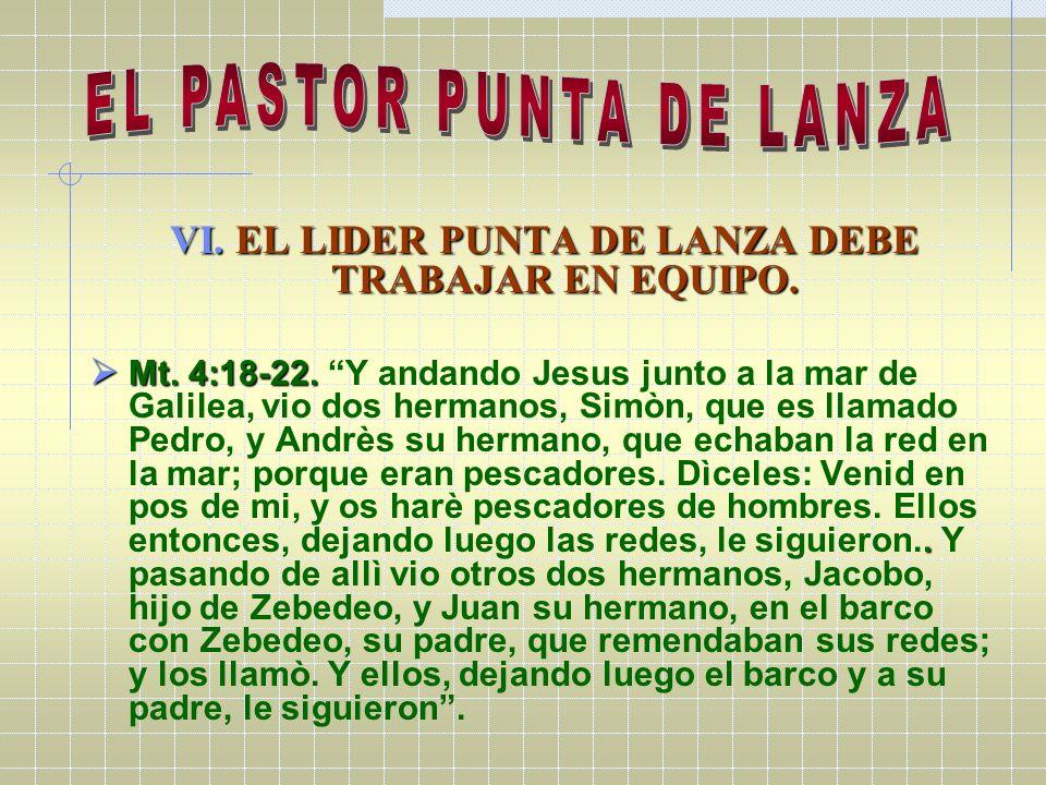 EL PASTOR PUNTA DE LANZA