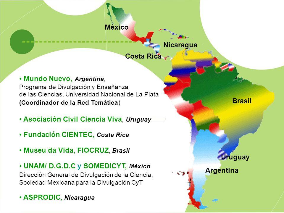 Asociación Civil Ciencia Viva, Uruguay