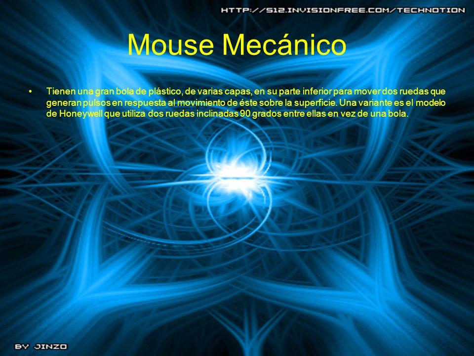 Mouse Mecánico