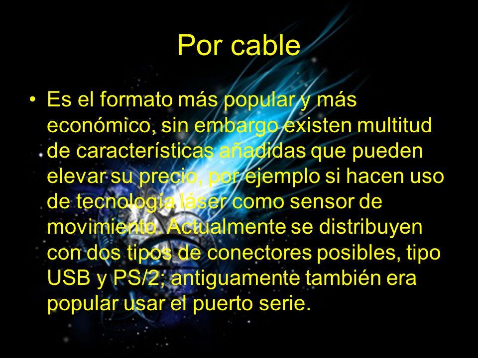 Por cable
