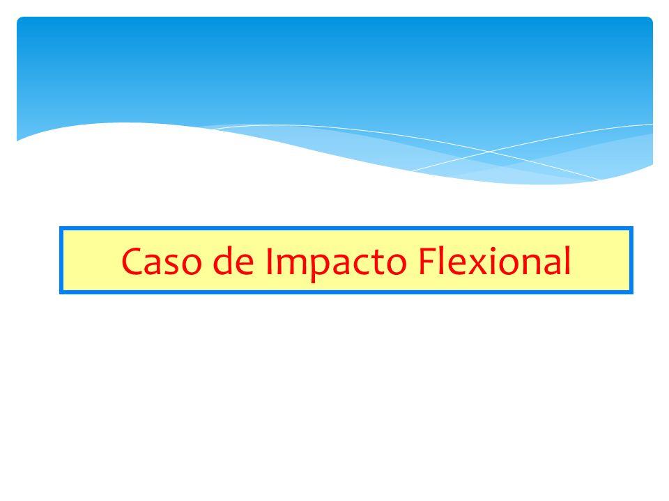 Caso de Impacto Flexional