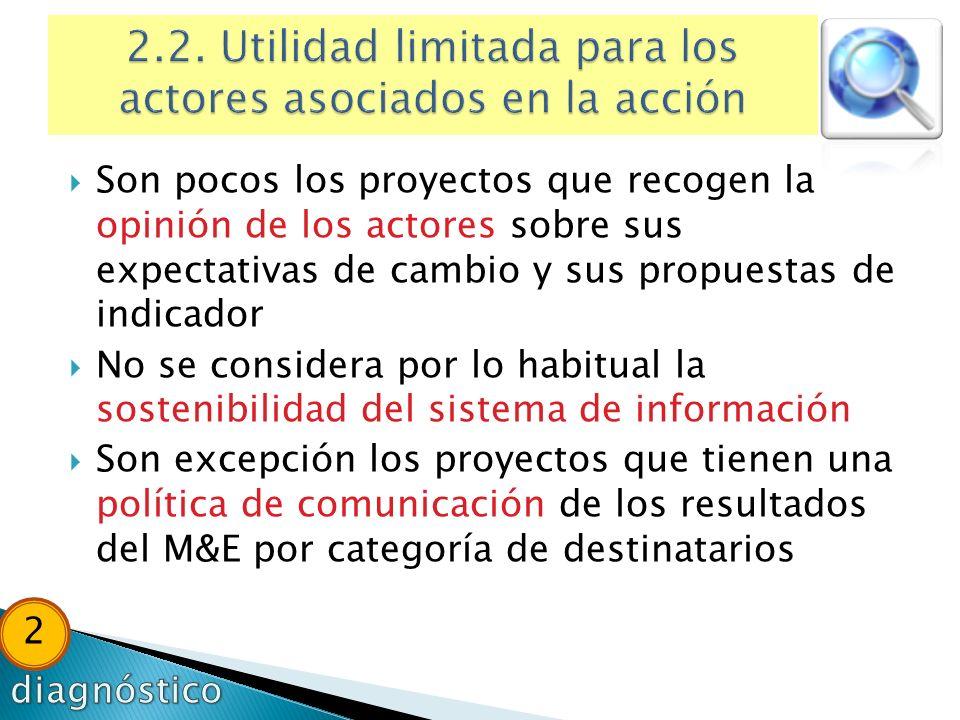2.2. Utilidad limitada para los actores asociados en la acción