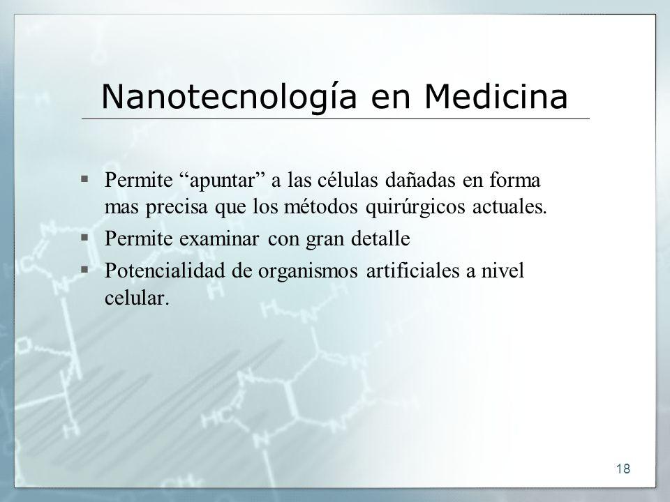 Nanotecnología en Medicina