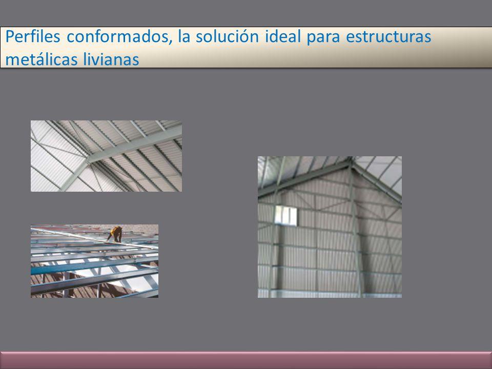 Perfiles conformados, la solución ideal para estructuras