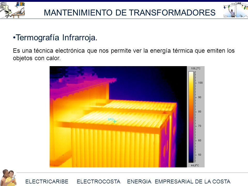 MANTENIMIENTO DE TRANSFORMADORES