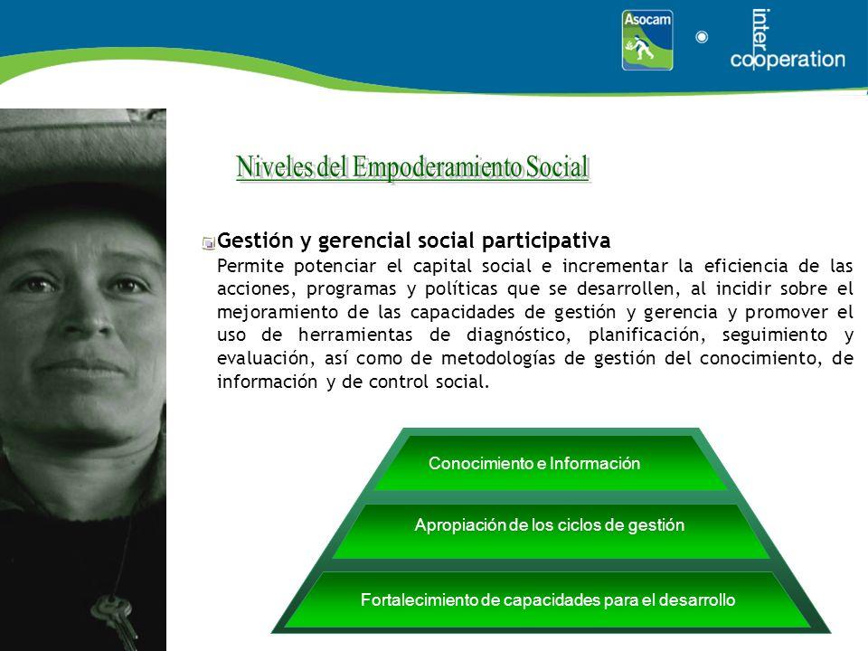 Niveles del Empoderamiento Social