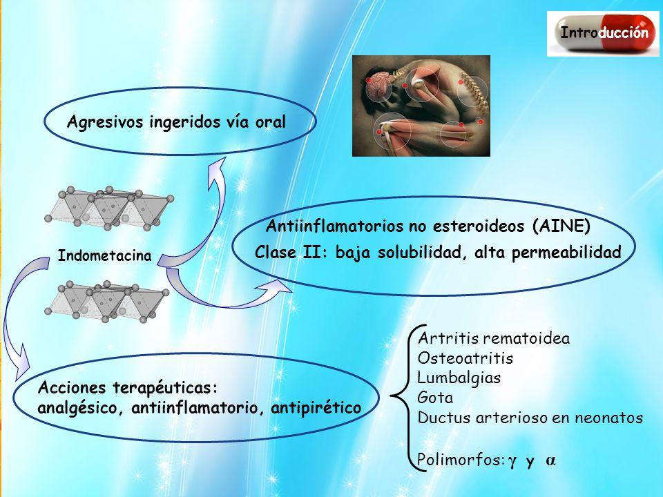 Agresivos ingeridos vía oral