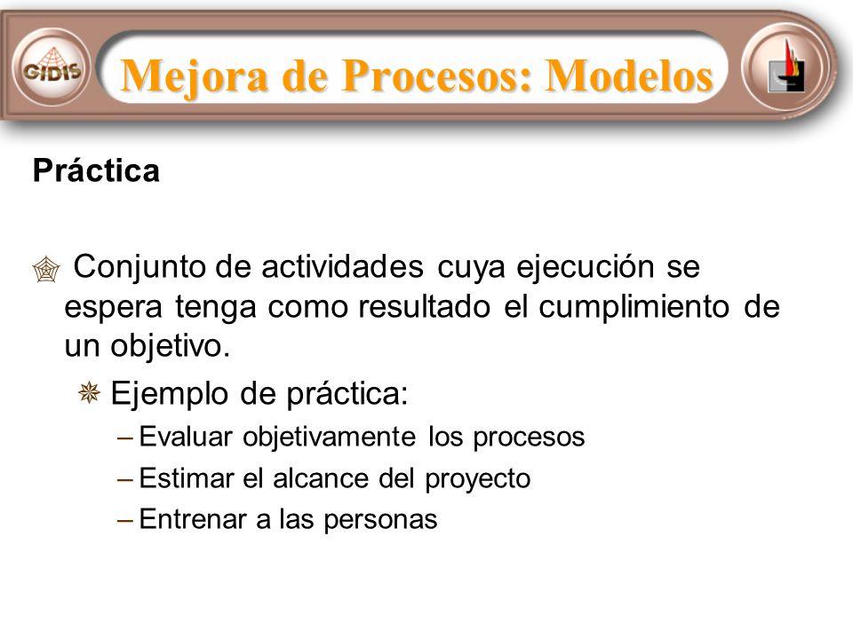 Mejora de Procesos: Modelos