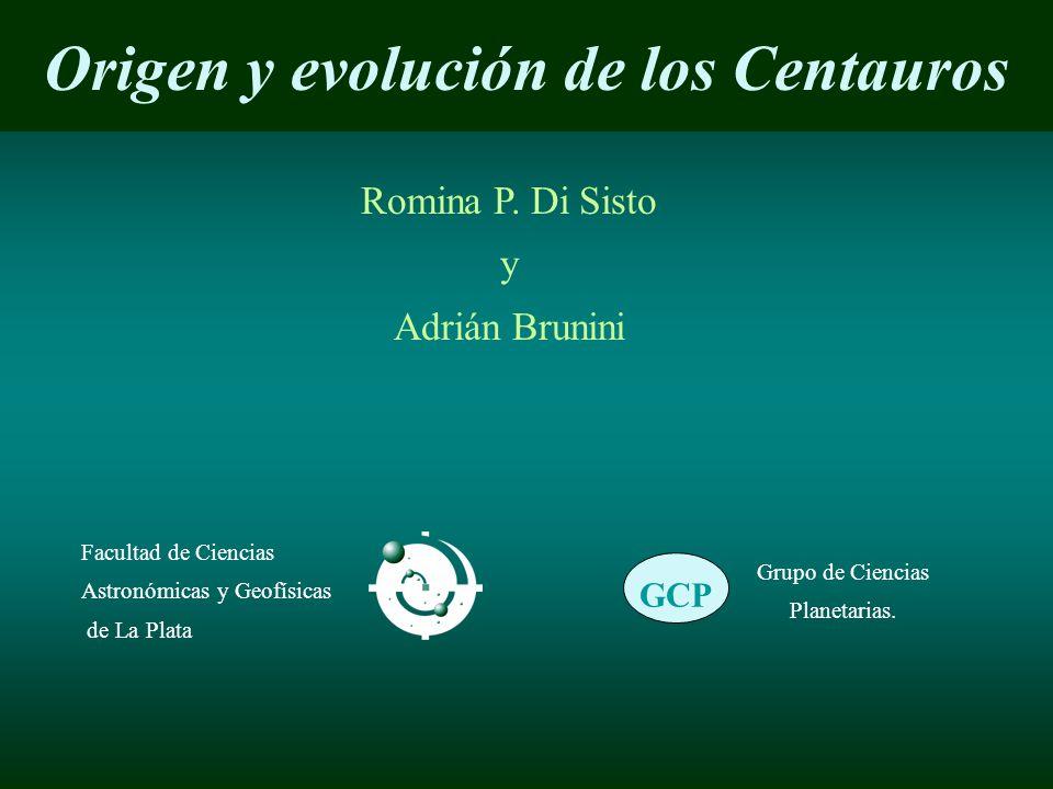 Origen y evolución de los Centauros