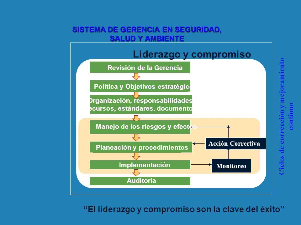 SISTEMA DE GERENCIA EN SEGURIDAD, SALUD Y AMBIENTE