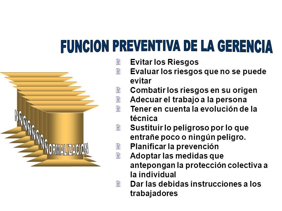 FUNCION PREVENTIVA DE LA GERENCIA