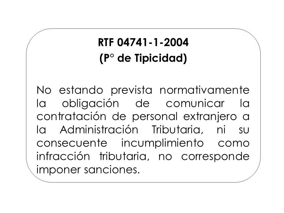 RTF 04741-1-2004 (P° de Tipicidad)