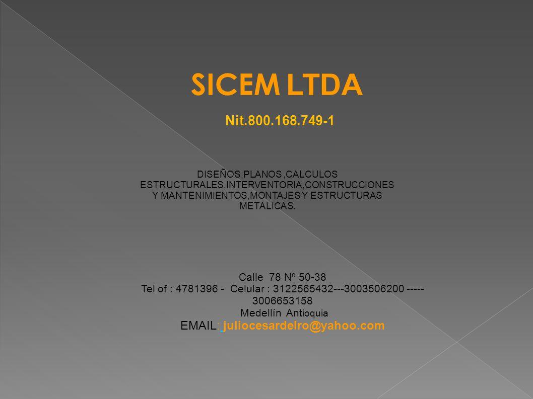 Tel of : 4781396 - Celular : 3122565432---3003506200 ----- 3006653158