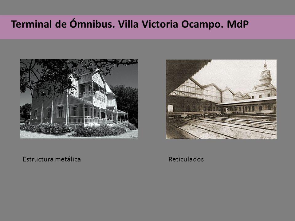 Terminal de Ómnibus. Villa Victoria Ocampo. MdP