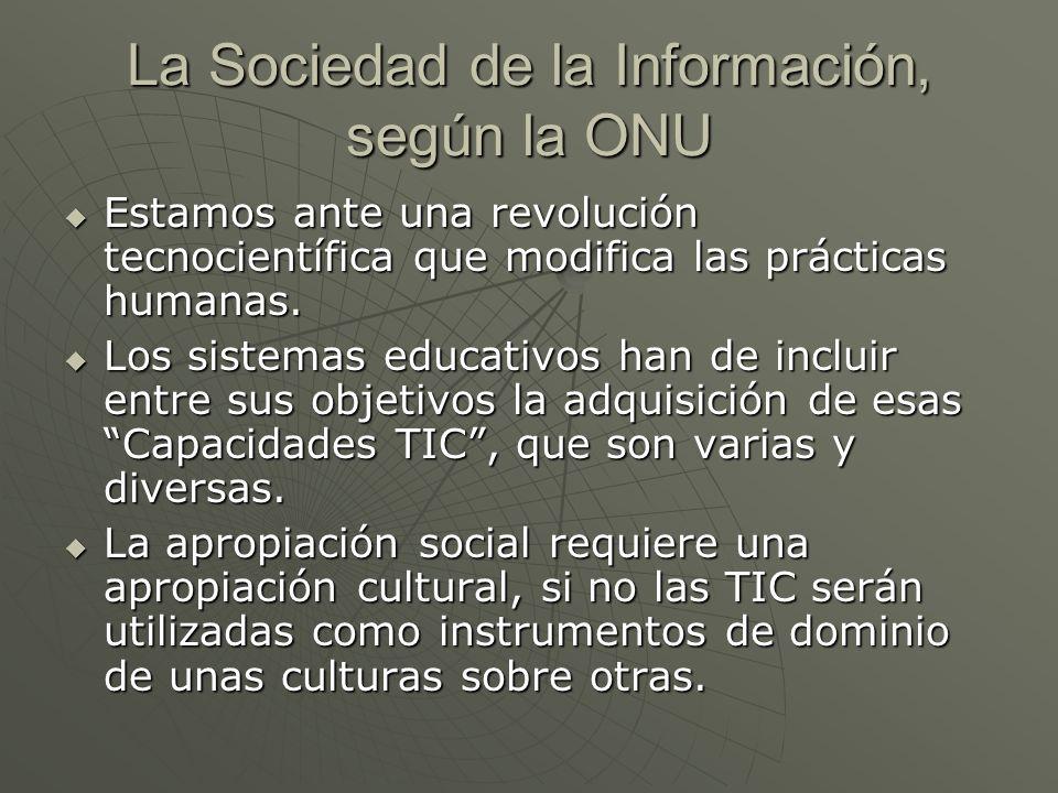 La Sociedad de la Información, según la ONU