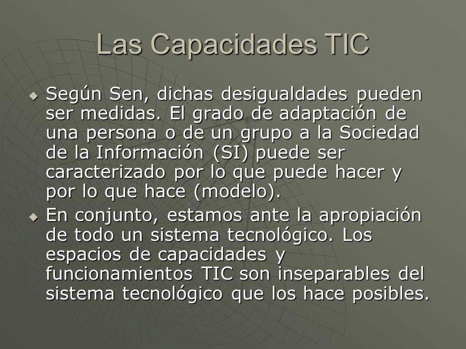 Las Capacidades TIC