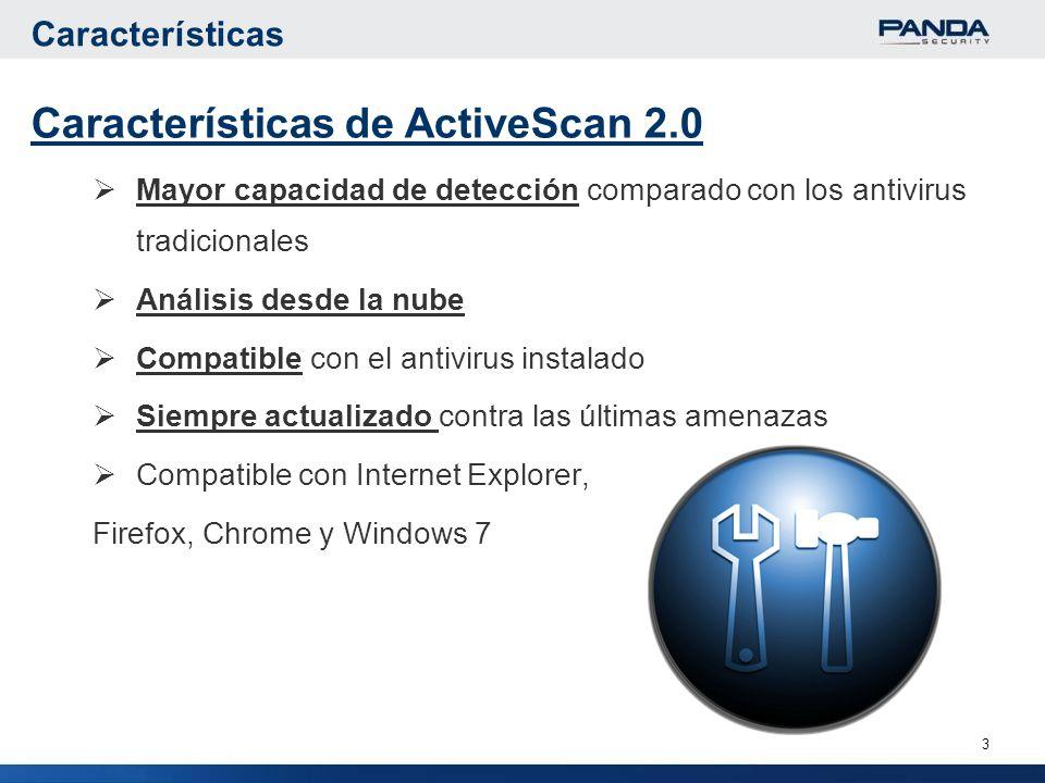 Características de ActiveScan 2.0