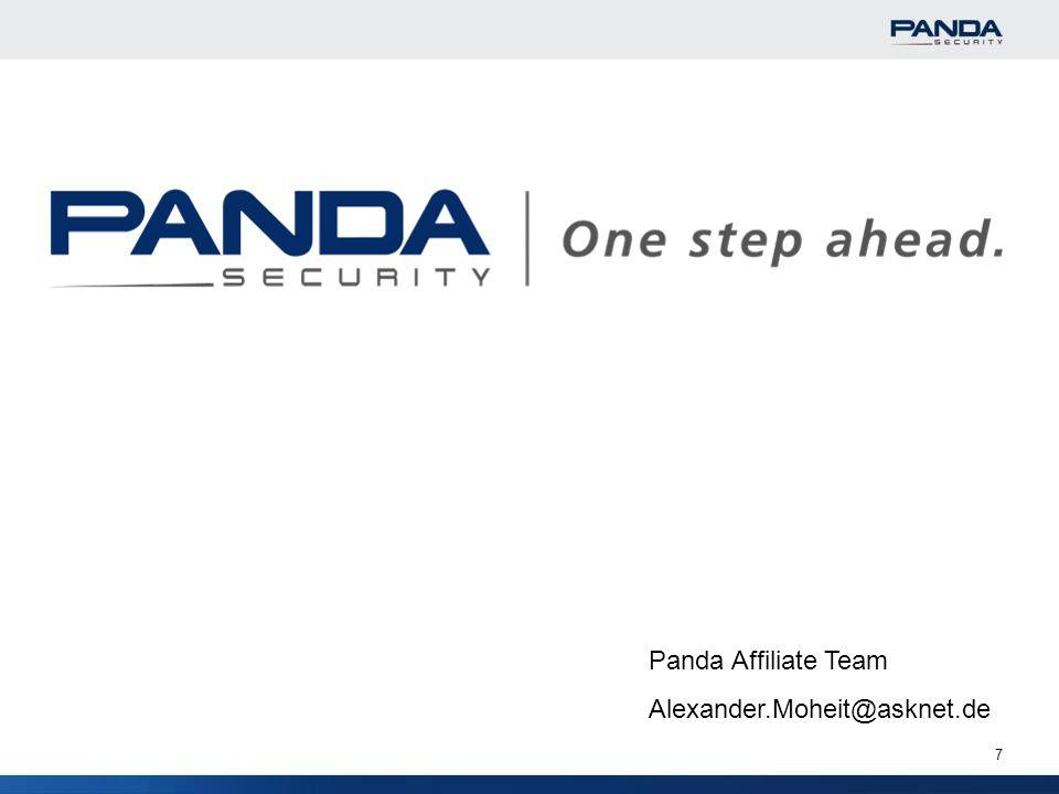 Panda Affiliate Team Alexander.Moheit@asknet.de 7