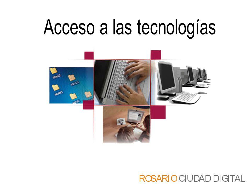 Acceso a las tecnologías