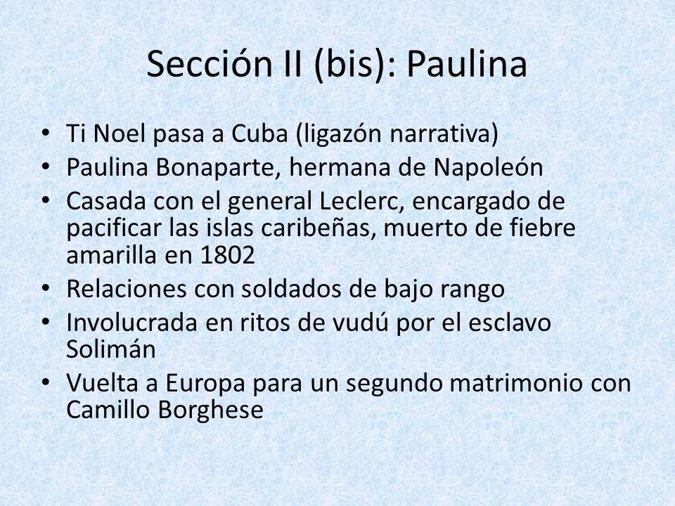 Sección II (bis): Paulina