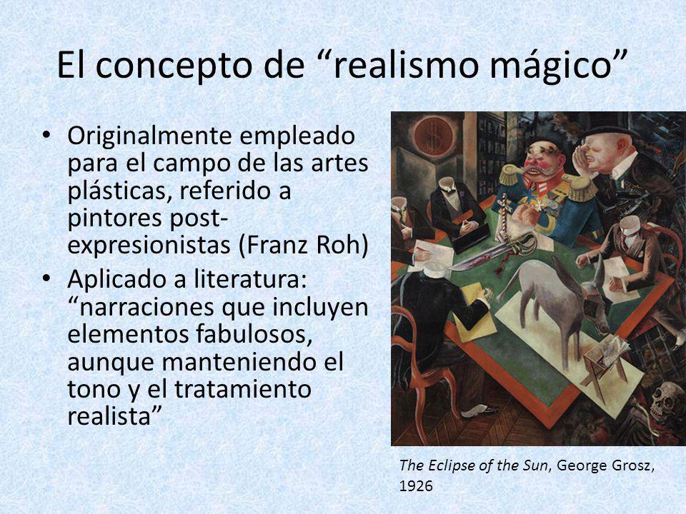 El concepto de realismo mágico