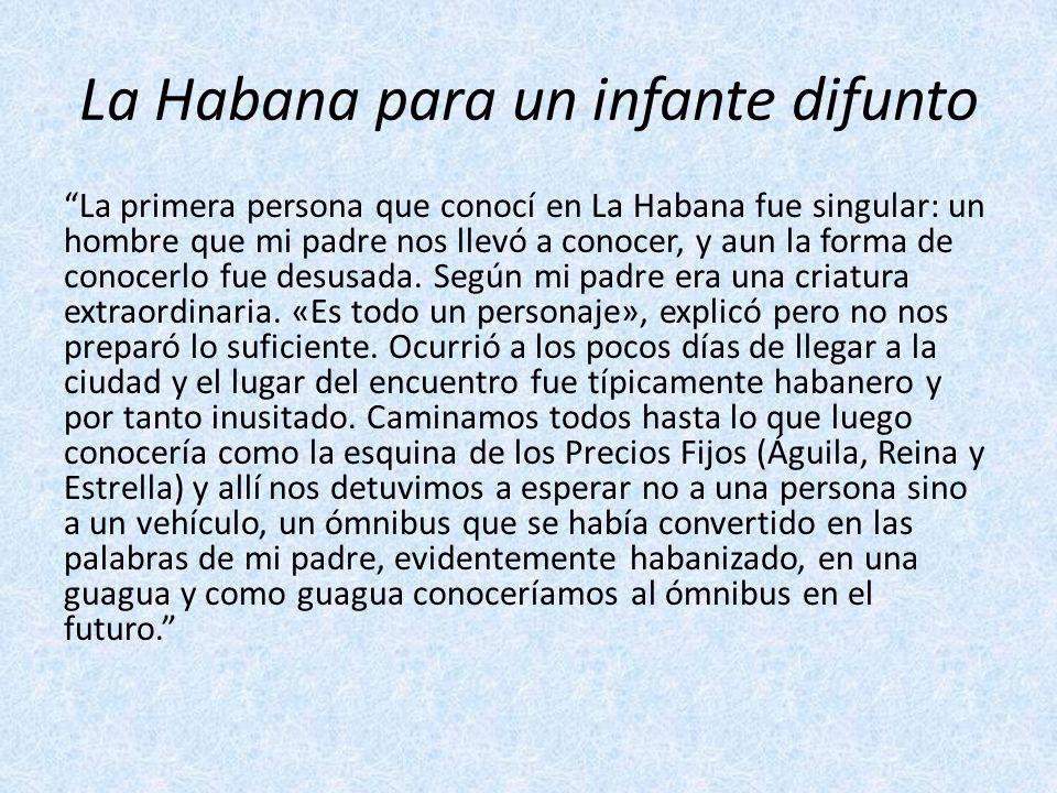 La Habana para un infante difunto