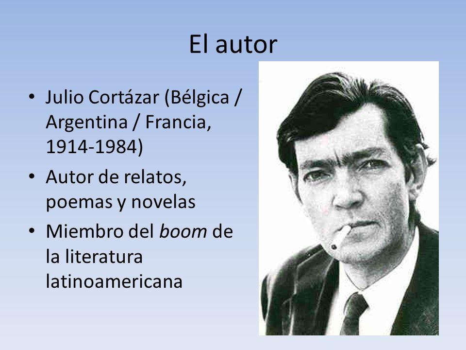 El autor Julio Cortázar (Bélgica / Argentina / Francia, 1914-1984)