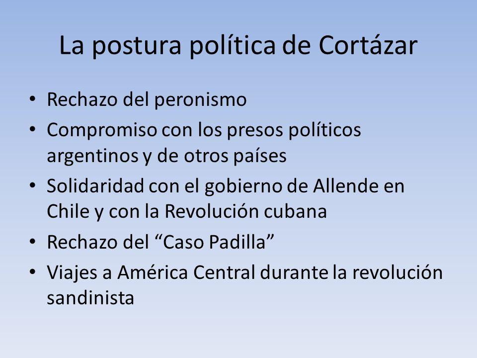 La postura política de Cortázar