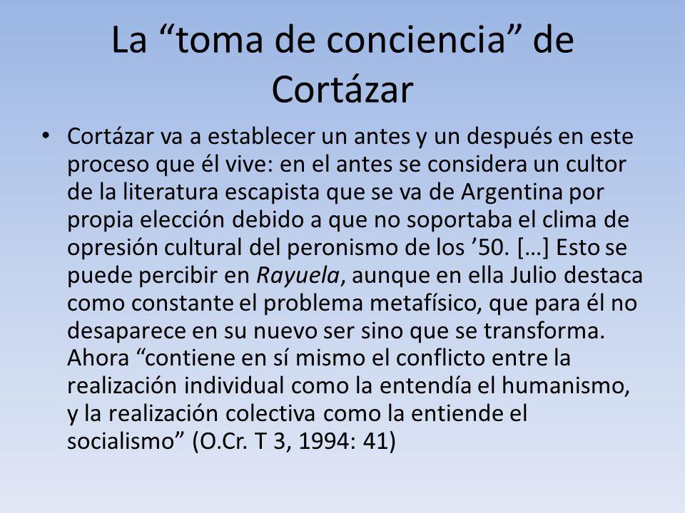 La toma de conciencia de Cortázar