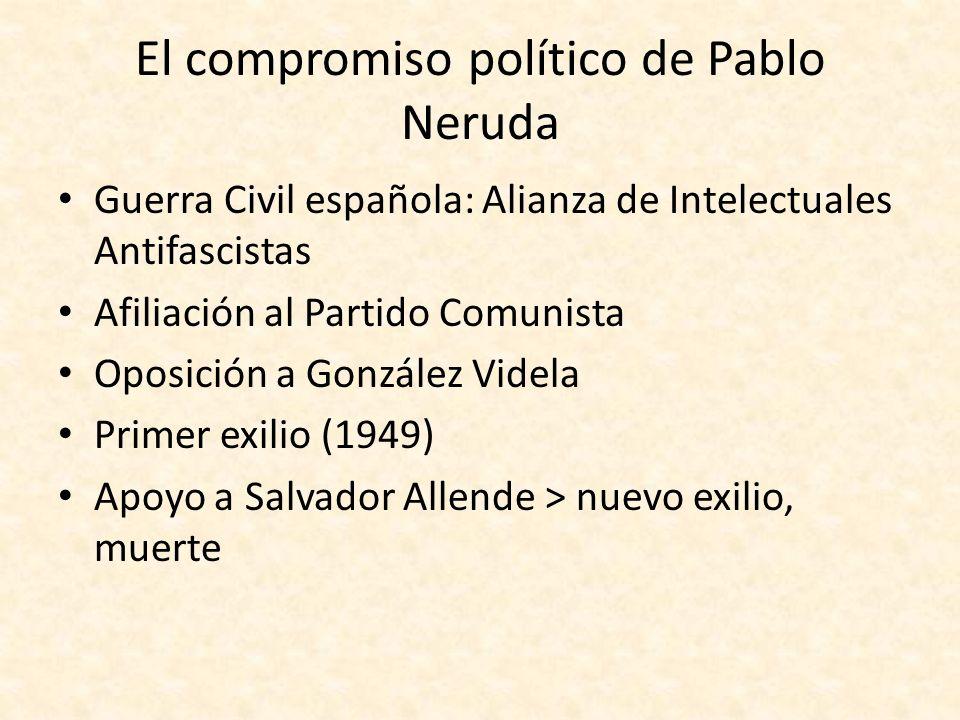 El compromiso político de Pablo Neruda