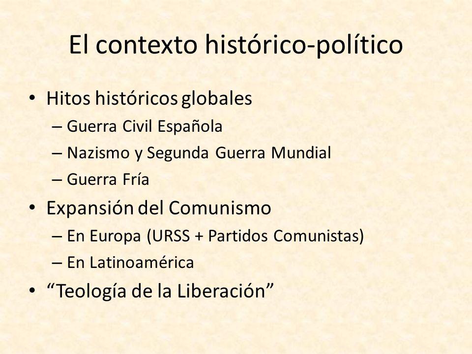 El contexto histórico-político