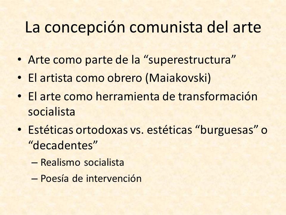 La concepción comunista del arte