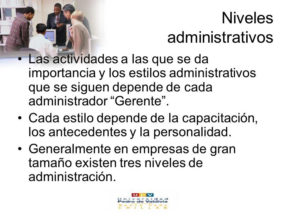 Niveles administrativos