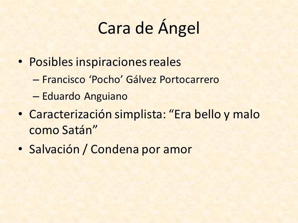 Cara de Ángel Posibles inspiraciones reales