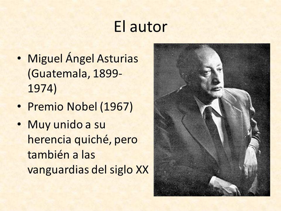 El autor Miguel Ángel Asturias (Guatemala, 1899-1974)