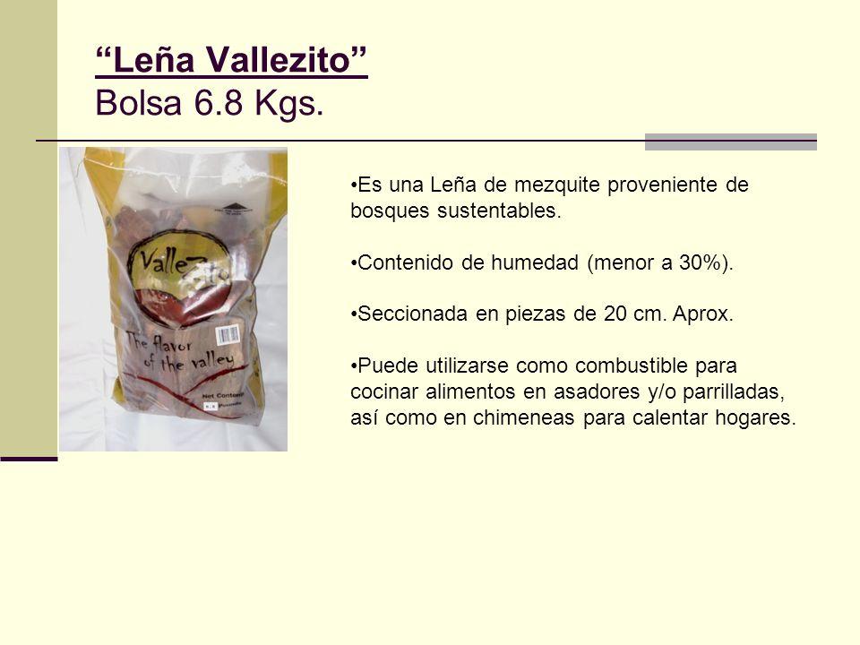 Leña Vallezito Bolsa 6.8 Kgs.
