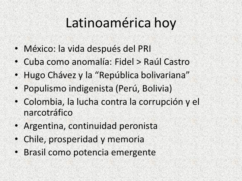 Latinoamérica hoy México: la vida después del PRI