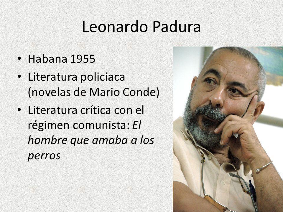 Leonardo Padura Habana 1955