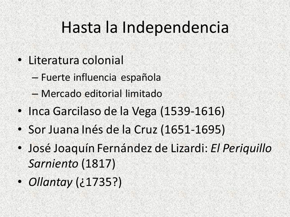 Hasta la Independencia