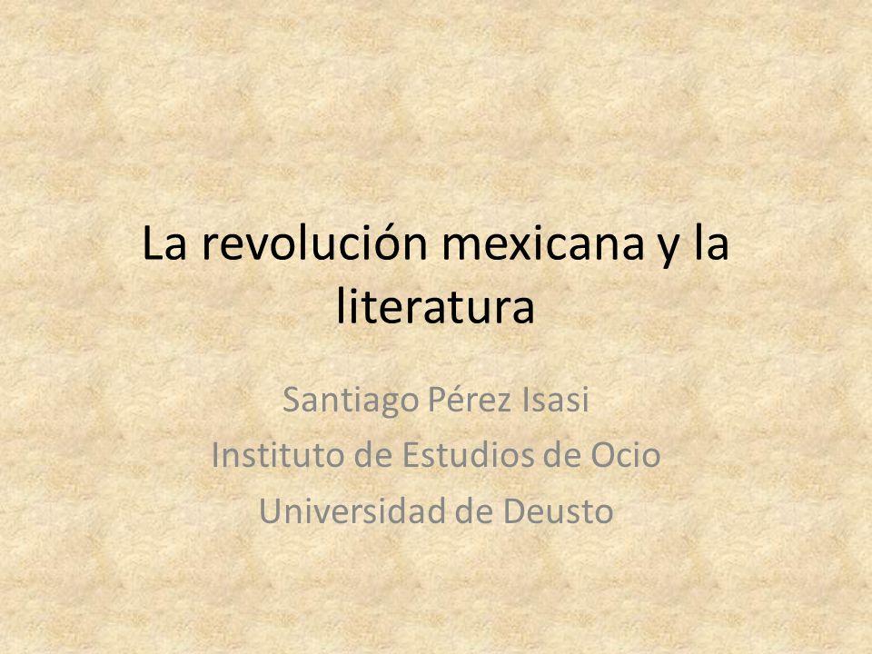 La revolución mexicana y la literatura