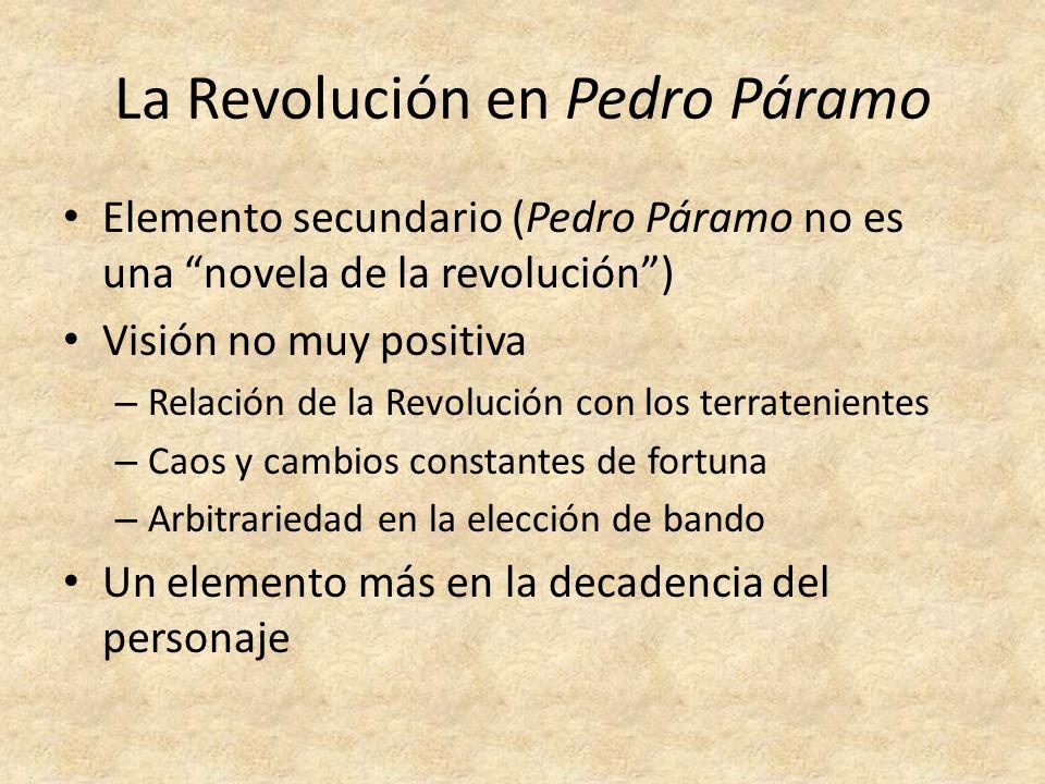 La Revolución en Pedro Páramo
