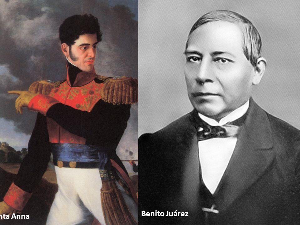 Benito Juárez Santa Anna