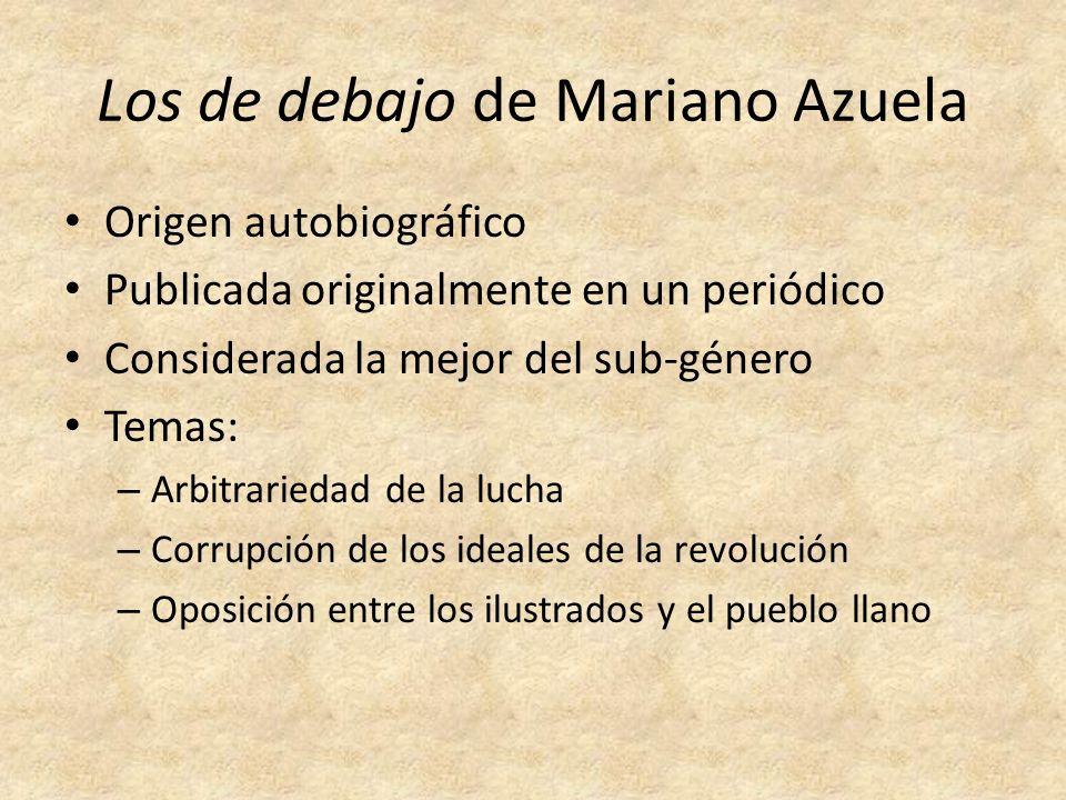Los de debajo de Mariano Azuela
