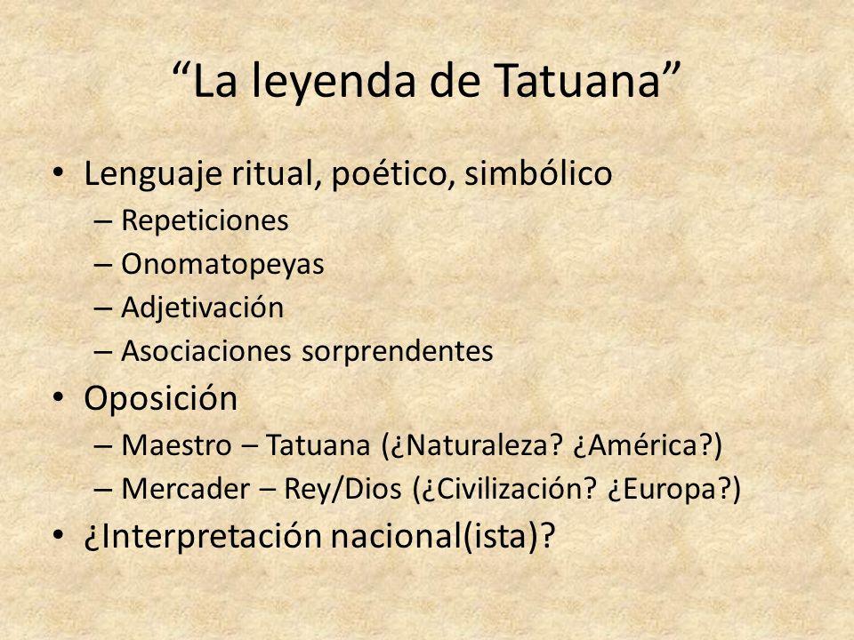 La leyenda de Tatuana