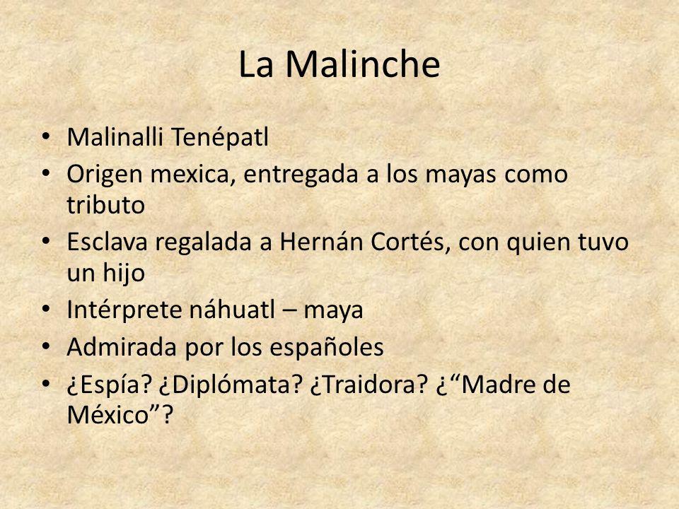 La Malinche Malinalli Tenépatl