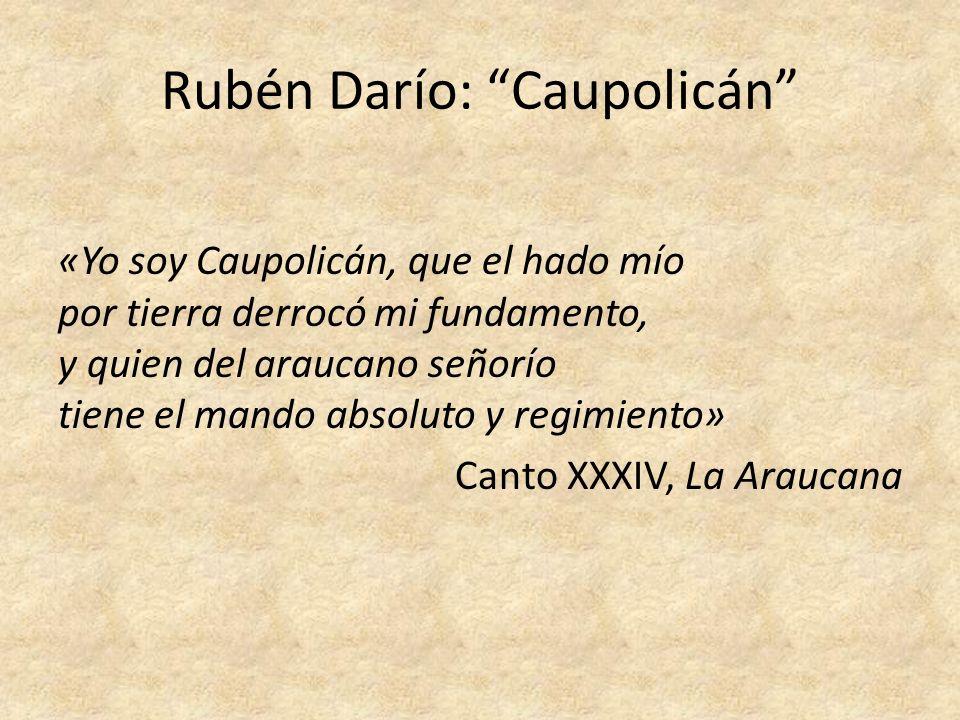 Rubén Darío: Caupolicán