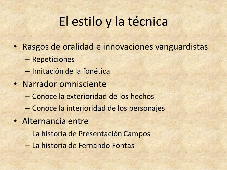 La literatura y las independencias hispanoamericanas ppt for Tecnicas vanguardistas