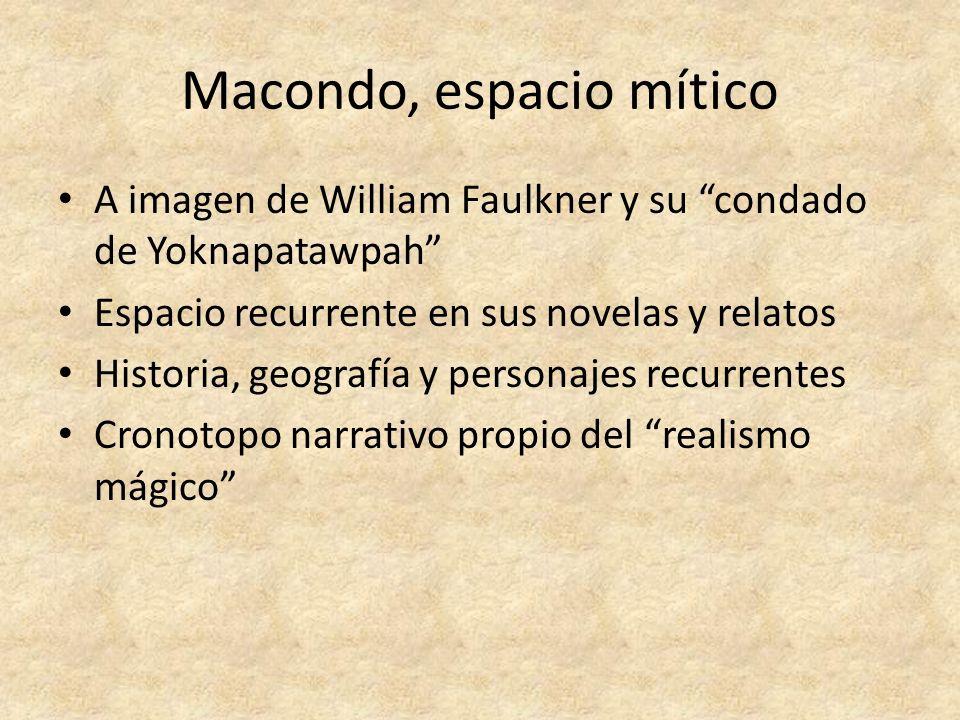 Macondo, espacio mítico