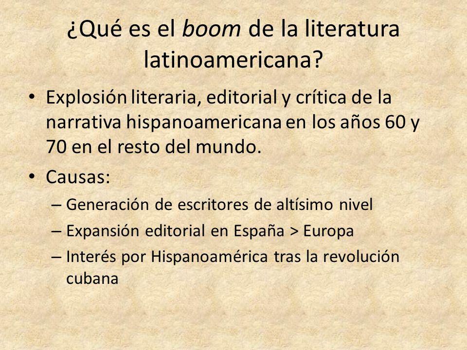 ¿Qué es el boom de la literatura latinoamericana